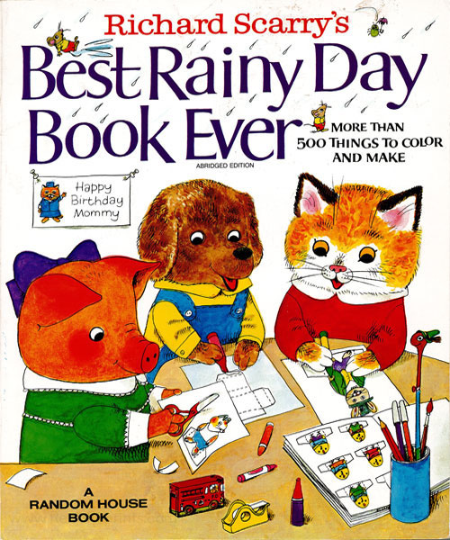 Busy World of Richard Scarry, The Best Rainy Day Book Ever