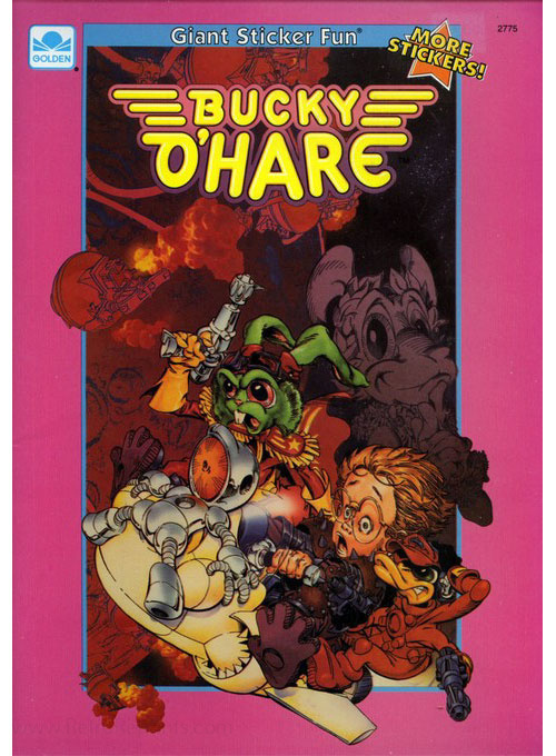 Bucky O'Hare and the Toad Wars Sticker Fun