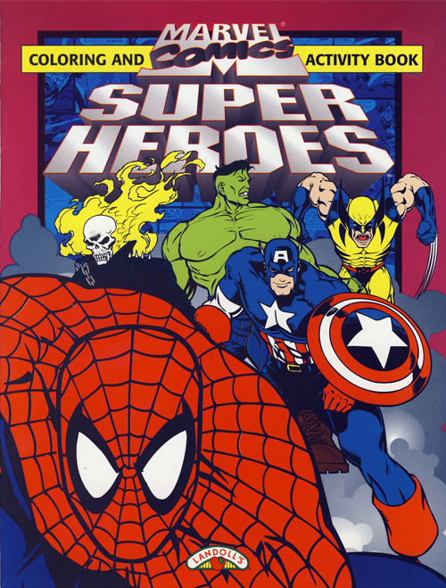 Marvel Super Heroes Coloring and Activity Book