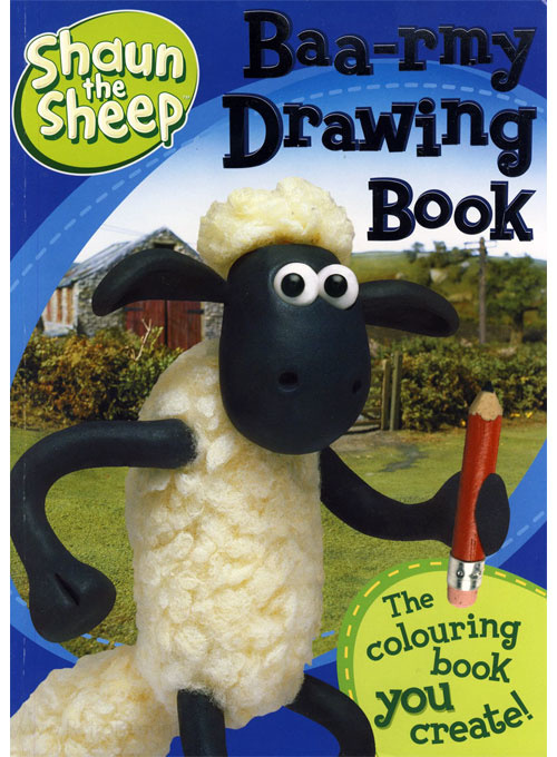 Shaun the Sheep Drawing Book