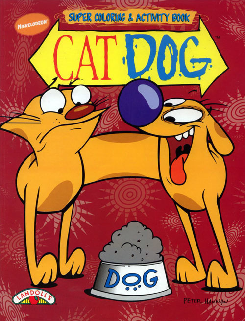 Catdog Coloring and Activity Book