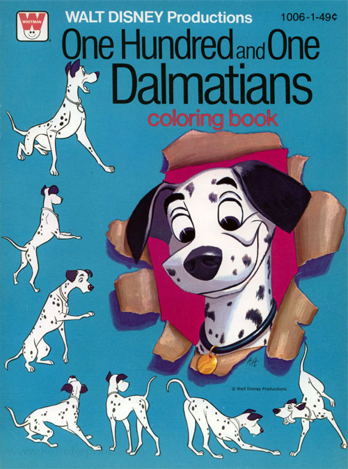 101 Dalmatians Coloring Book
