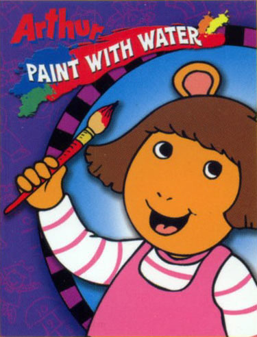 Arthur Paint with Water