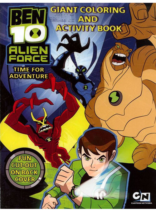 Ben 10: Alien Force Coloring and Activity Book
