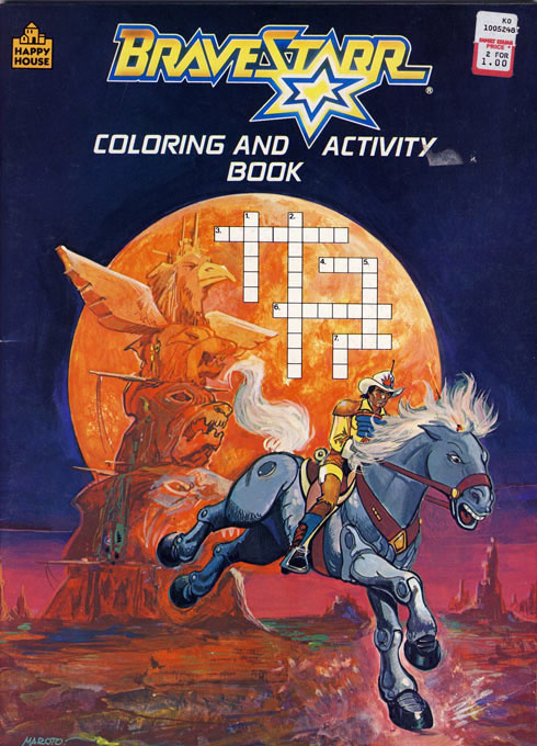 Bravestarr Coloring and Activity Book