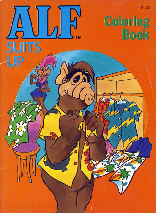 Alf Suits Up (1988) Checkerboard