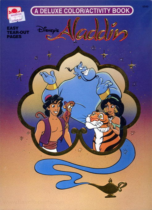Aladdin, Disney's Coloring and Activity Book