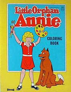Little Orphan Annie Coloring Book