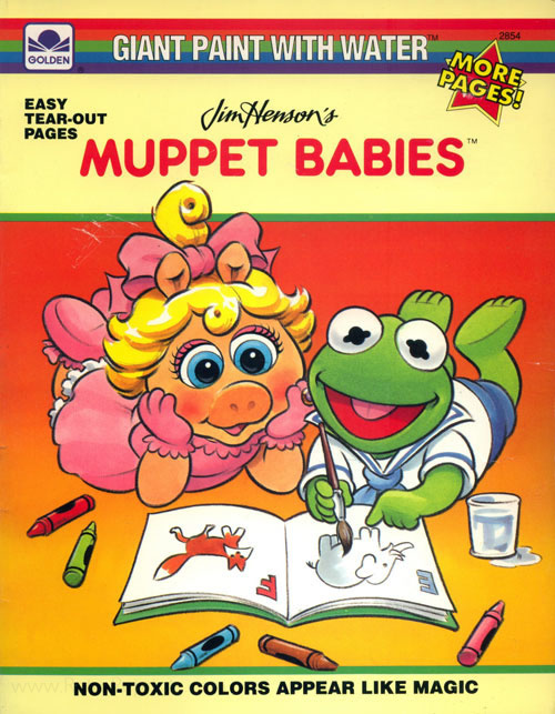 Muppet Babies, Jim Henson's Paint with Water