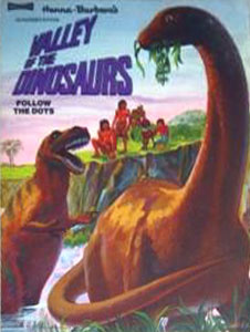 Valley of the Dinosaurs Dot Book