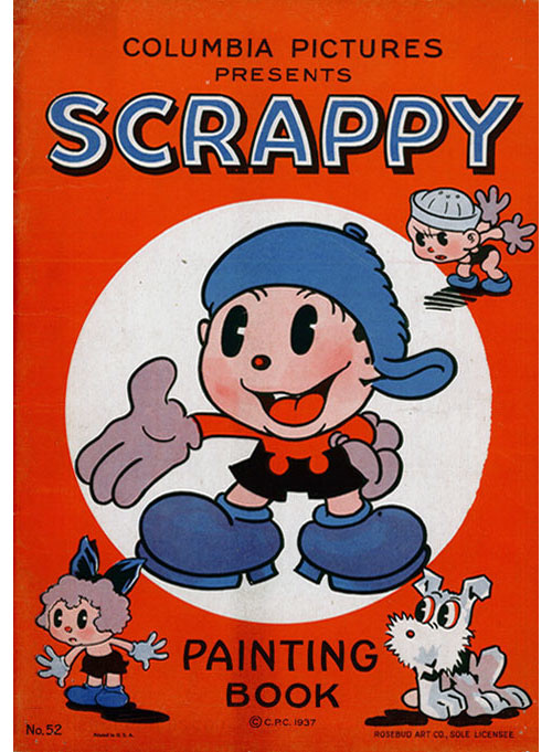 Scrappy Painting Book