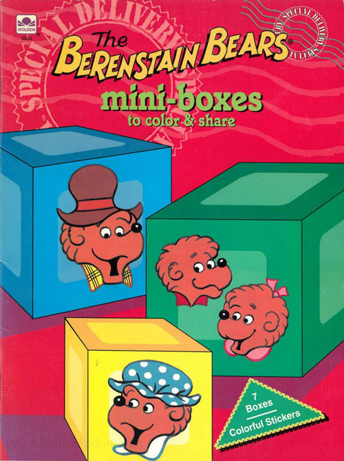 Berenstain Bears, The Mini-boxes