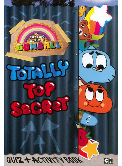 Amazing World of Gumball, The Totally Top Secret Quiz and Activity Book