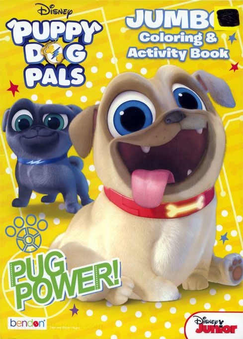 Puppy Dog Pals, Disney's Pug Power