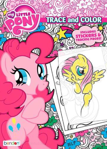 My Little Pony: Friendship Is Magic Trace & Color