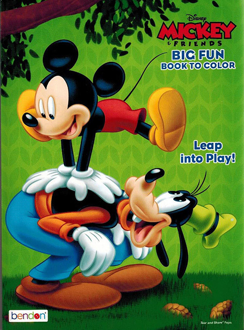 Mickey Mouse and Friends Leap into Play!