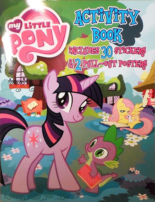 My Little Pony: Friendship Is Magic Activity Book