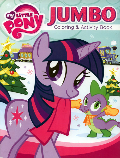 My Little Pony: Friendship Is Magic Coloring Book