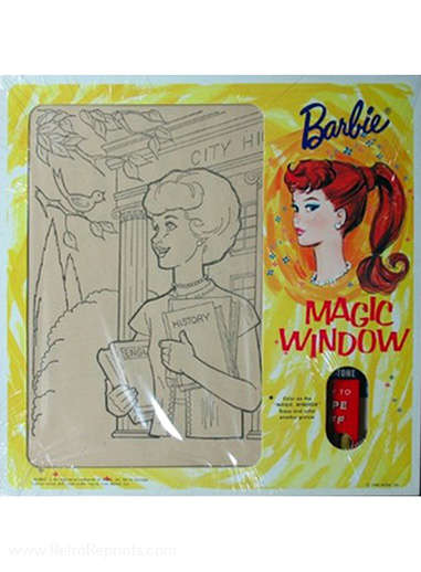 Barbie Magic Window