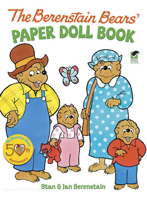 Berenstain Bears, The Paper Doll Book