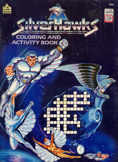 SilverHawks Coloring and Activity Book