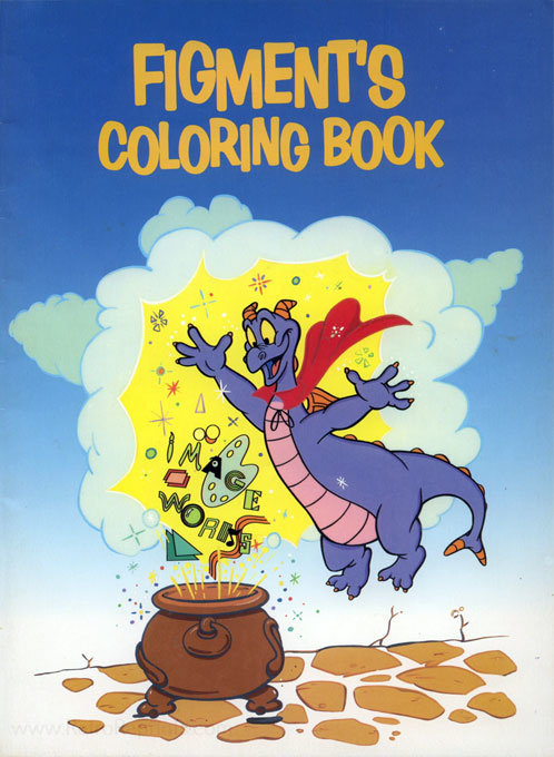 Disney Figment's Coloring Book