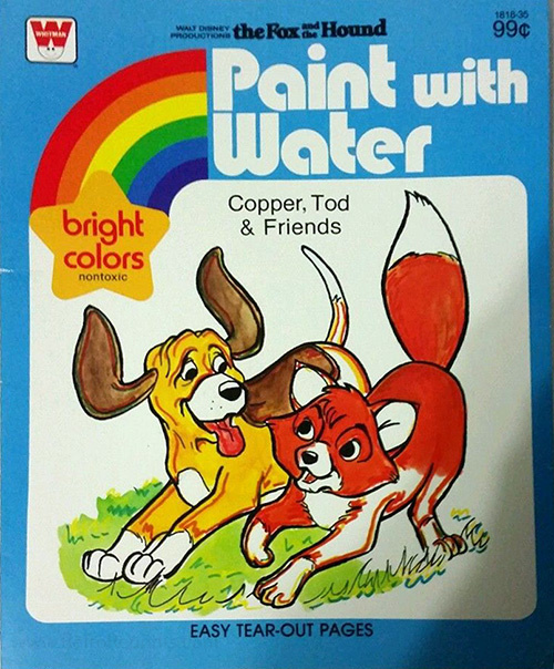 Fox and the Hound, The Paint with Water
