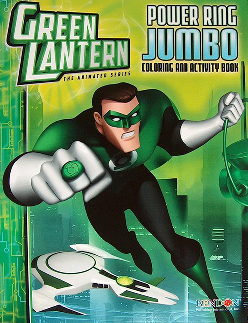Green Lantern: The Animated Series Power Ring