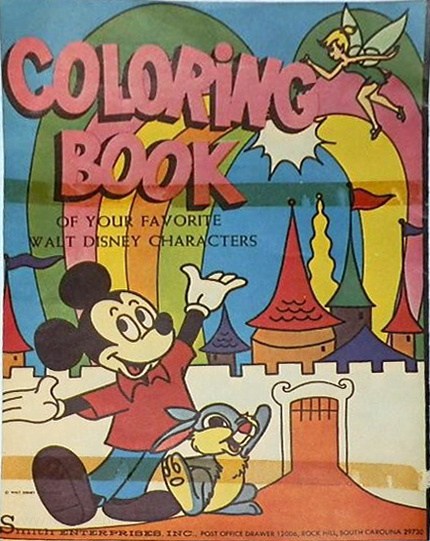 Mickey Mouse and Friends Coloring Book