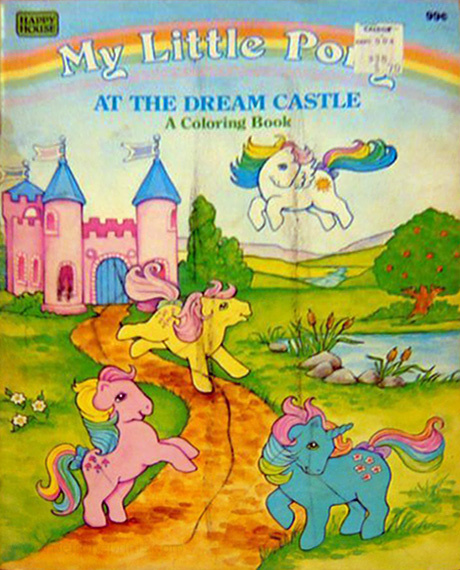 My Little Pony At the Dream Castle