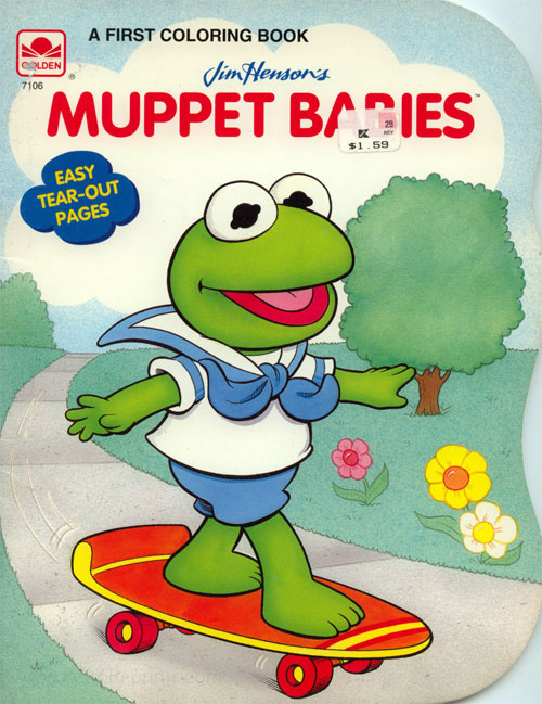 Muppet Babies, Jim Henson's Coloring Book