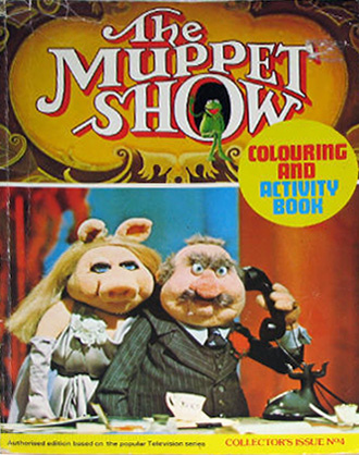 Muppets, Jim Henson's Coloring & Activity Book