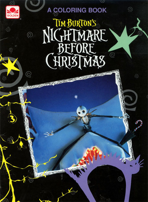 Nightmare Before Christmas, The Coloring Book