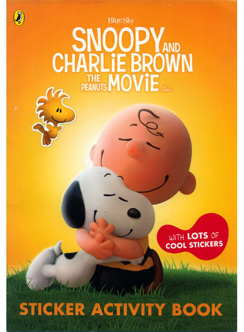 Peanuts Movie, The Sticker Activity Book