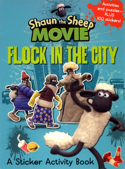 Shaun the Sheep Flock in the City