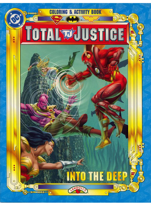 DC Super Heroes Into the Deep