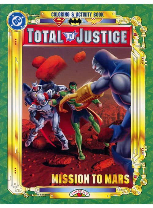 DC Super Heroes Mission to Mars