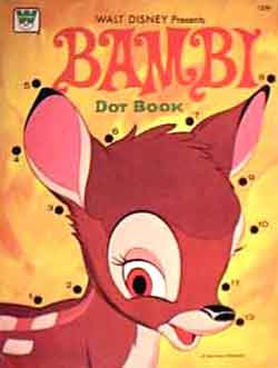 Bambi, Disney's Dot Book