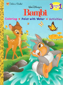Bambi, Disney's 3 books in 1