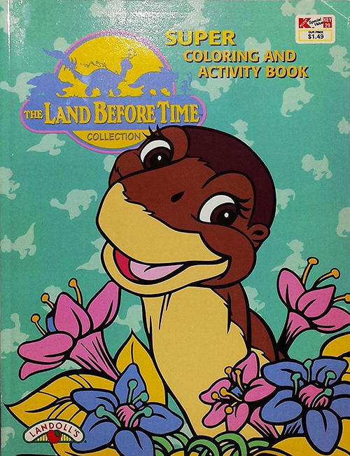 Land Before Time, The Coloring and Activity Book
