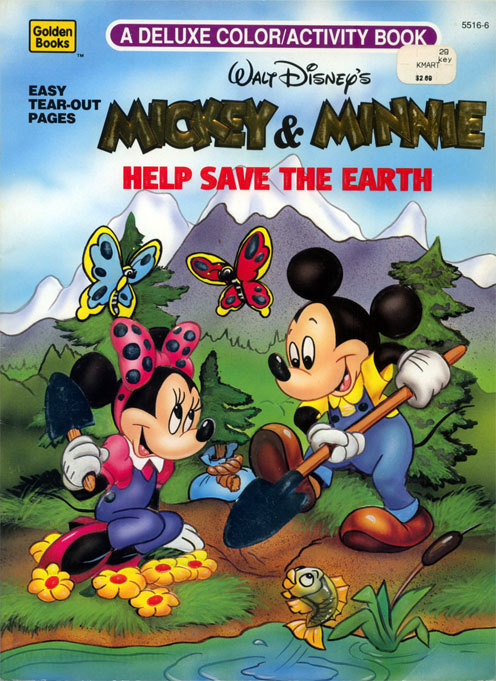 Mickey Mouse and Friends Help Save the Earth