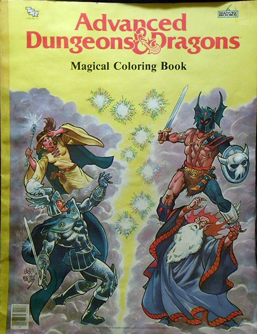Dungeons & Dragons Coloring Book