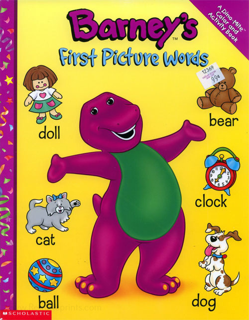 Barney & Friends First Picture Words