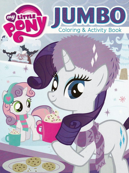 My Little Pony: Friendship Is Magic Coloring and Activity Book
