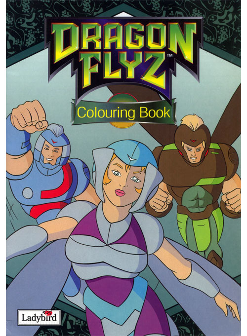 Dragon Flyz Colouring Book