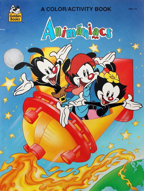 Animaniacs Coloring & Activity Book