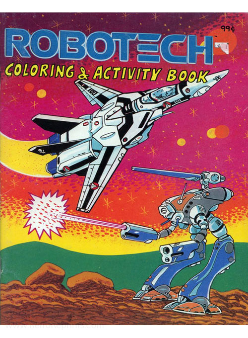 Robotech Coloring and Activity Book