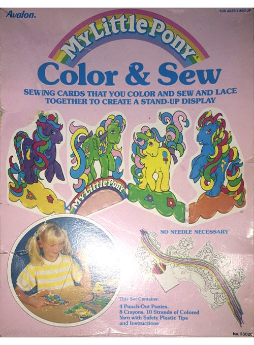 My Little Pony Color & Sew