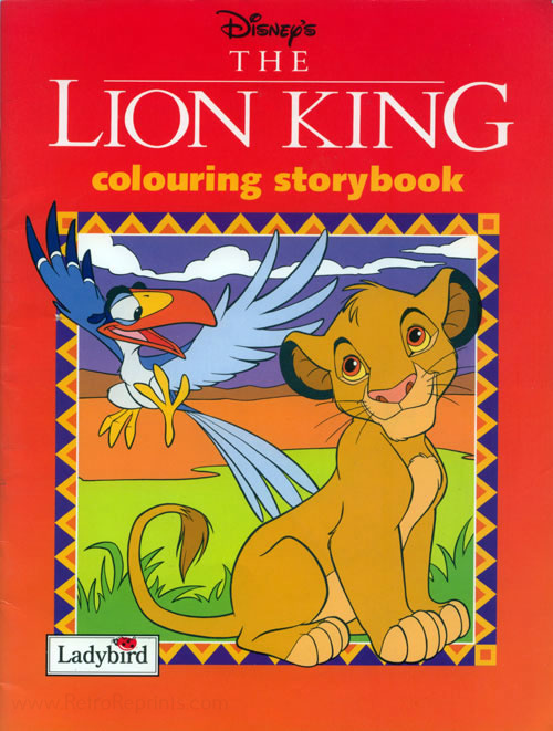 Lion King, The Colouring Book