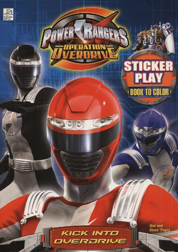Power Rangers Operation Overdrive Kick into Overdrive